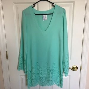Seafoam Green Swimsuit Coverup